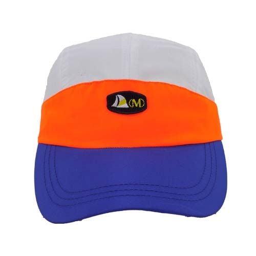 DMDNC02WLR CAP dmd cap nylon white orange and royal cap - DMD Cap Nylon White Orange and Royal Cap