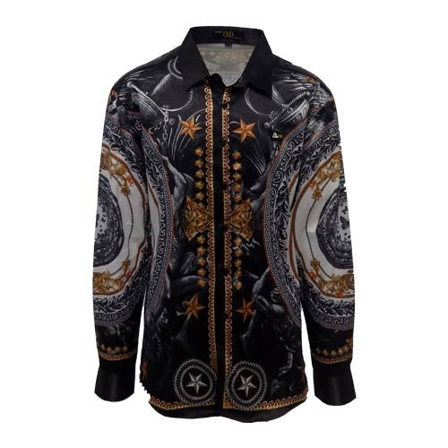 DMD-Assorted-Printed-Shirts-DMDS009AP dmd assorted print shirt - DMD Assorted Print Shirt