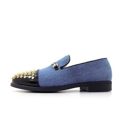 DMD Venice 6 Navy Spike Shoes