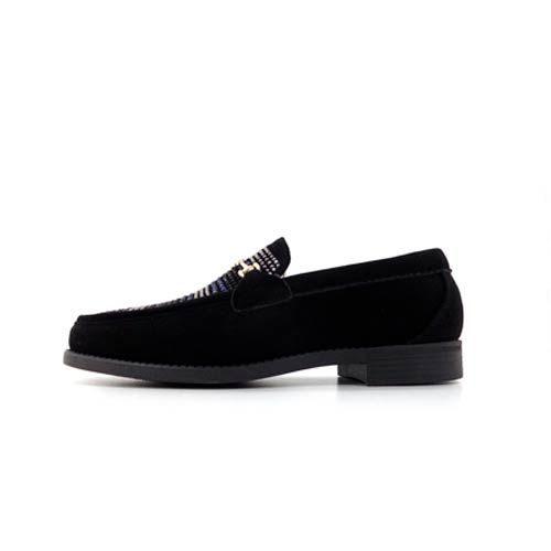 DMD Venice 8 Black Suede Shoes