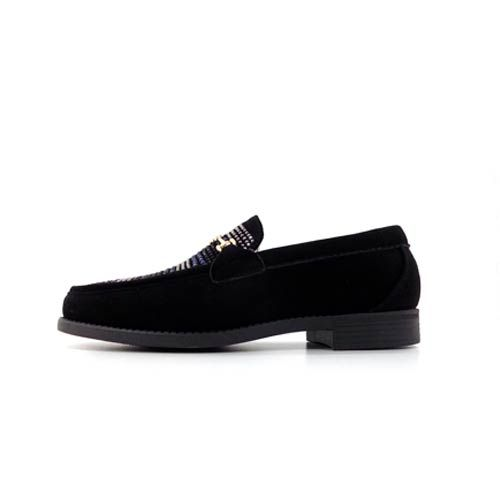 DMD Venice 8 Black Suede Shoes