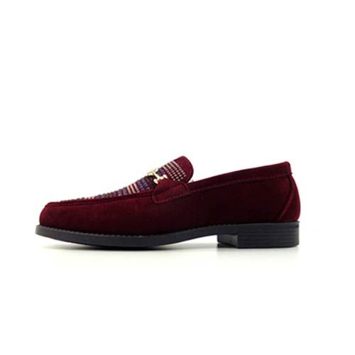 DMD Venice 8 Burgundy Suede Shoes