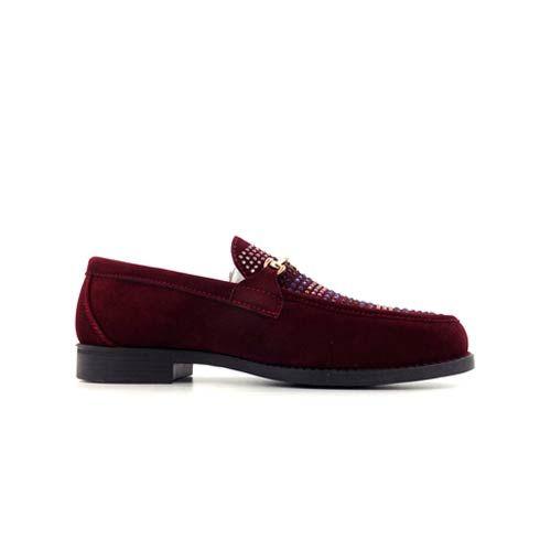 DMD Venice 8 Burgundy Suede Shoes.jpg2