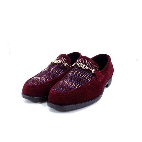 DMD Venice 8 Burgundy Suede Shoes.jpg3