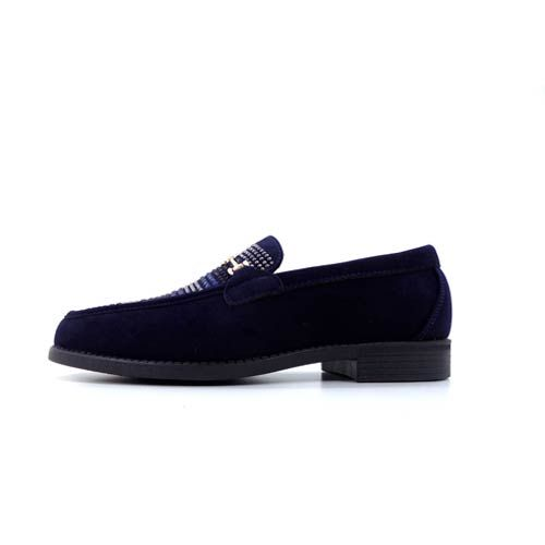 DMD Venice 8 Navy Suede Shoes