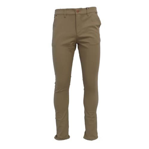 dmd mens slimfit stretch chino black pants - DMD Tobacco Chino