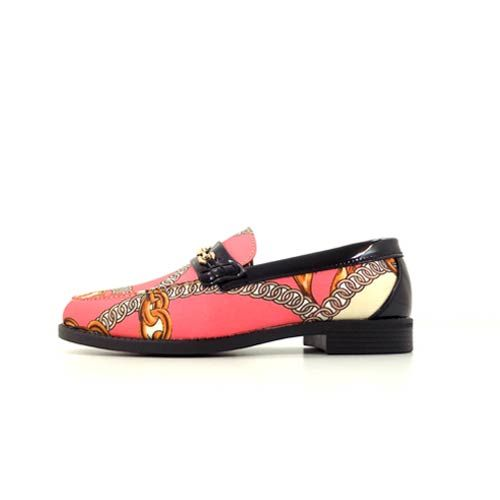 DMDD05PM dmd venice pink mix lace print shoes - DMD Venice Pink Mix Lace Print Shoes