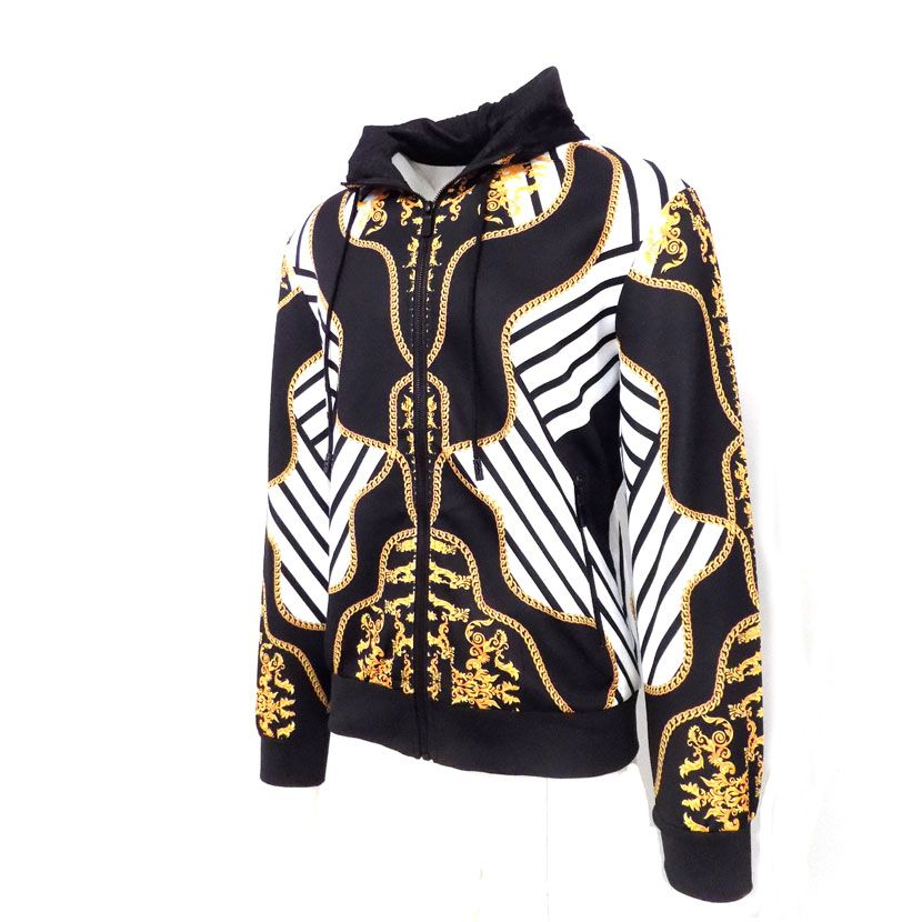 DMD BLACK GOLD WHITE TRACKSUIT 2