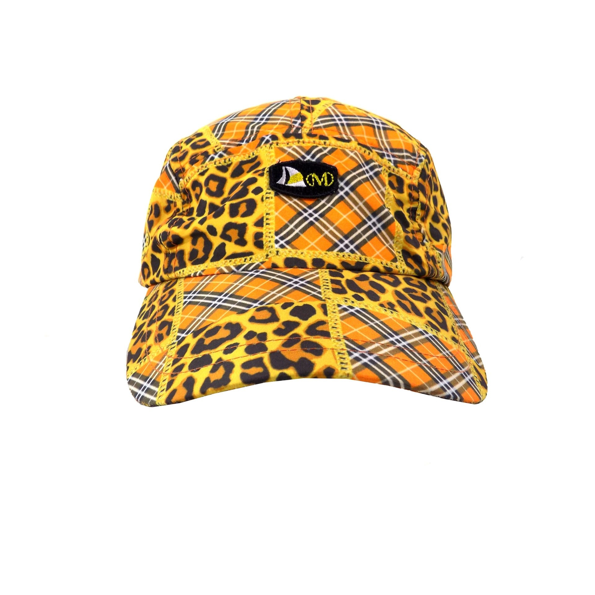 DSCN  - DMD ORANGE LEOPARD PRINT CAP