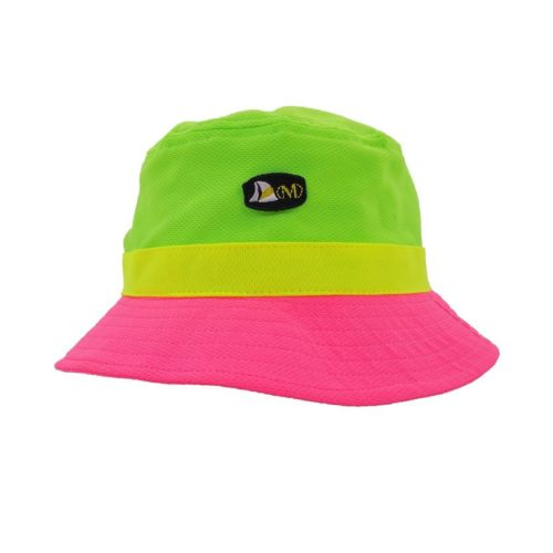 GREEN PINK BUCKETHAT