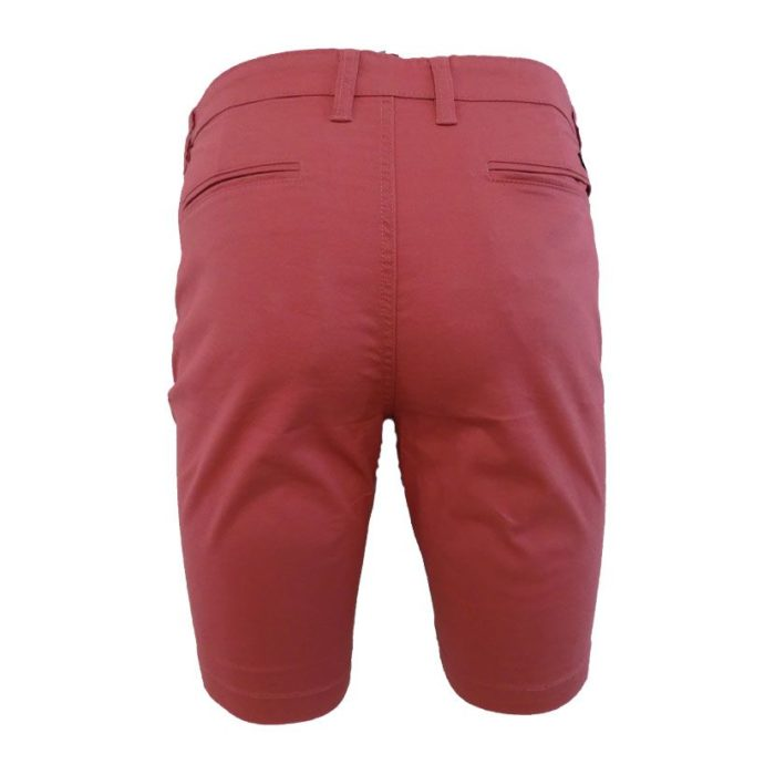 MENS CHINO SHORT CORAL 2