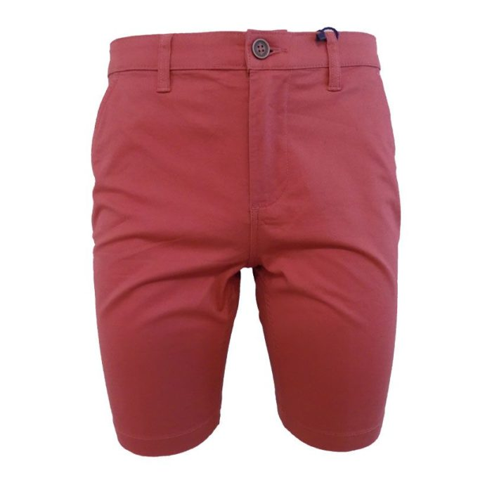 MENS CHINO SHORT CORAL