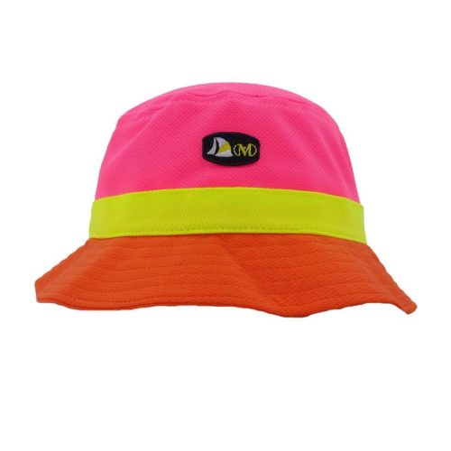 PINK ORANGE BUCKETHAT