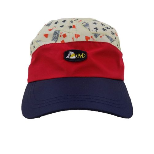 MENS NYLON CREAM CARDS CAP