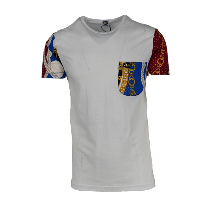 MENS SS T SHIRT PRINTED POCKET SLEEVE