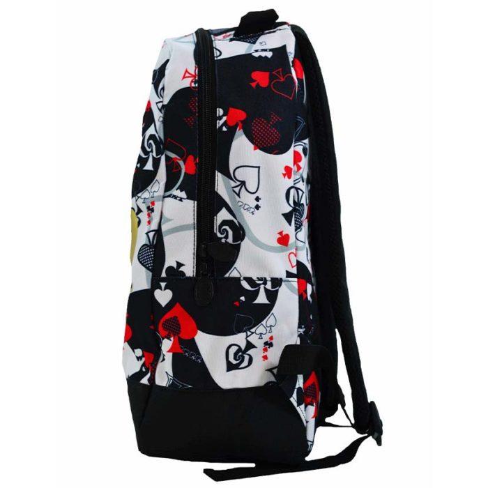 DMDBP01AC DMD Backpack Aces Print Black V2