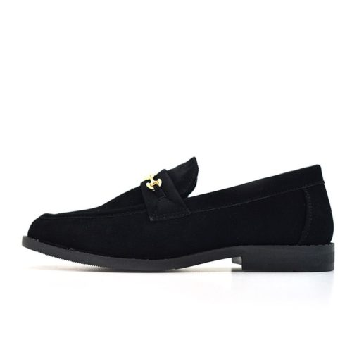 DMDD10BL DMD Venice Youth Suede Black V1
