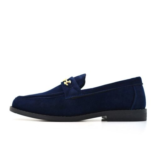 DMDD10NS DMD Venice 3 Youth Suede Navy V1