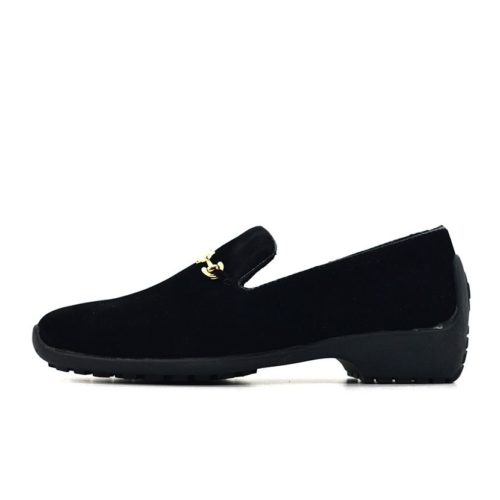 DMDD11YB DMD Monza 02 Youth Suede Black V1