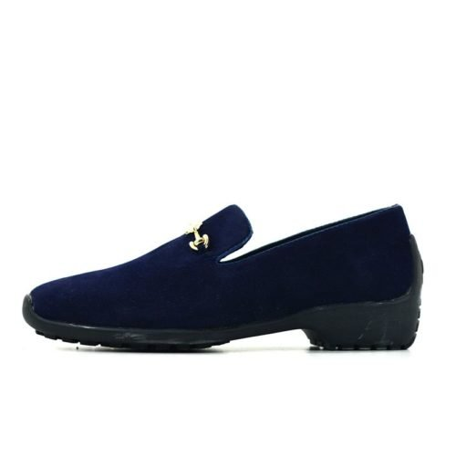 DMDD11YN DMD SUEDE Driver Youth Navy 9907 V1