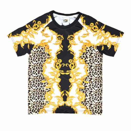 DMDKS20LS4 DMD Boys Leopard Short Set BKDMD20 V1