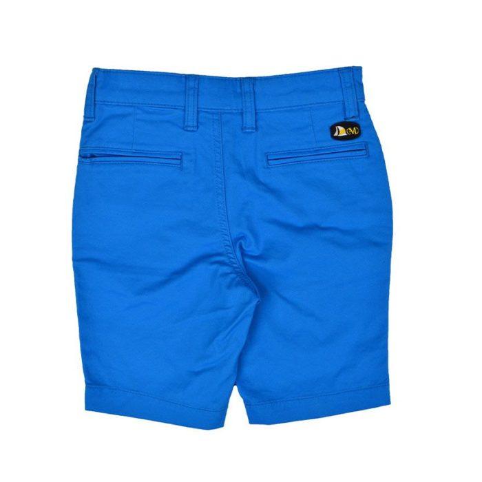 DMDKSH001EB DMD Chino Shorts Electric Blue V2
