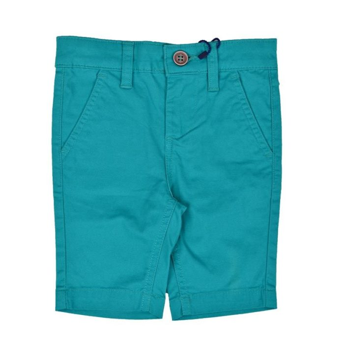 DMDKSH001GR DMD Boys Chino Shorts Green V1