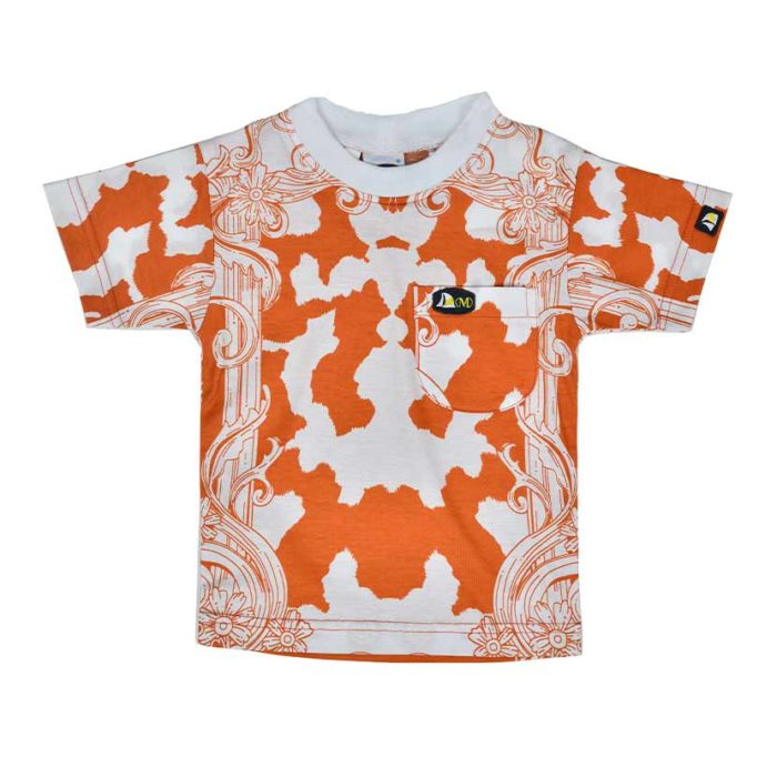 DMDKTS22RUF DMD T Shirt Rust Flower V1