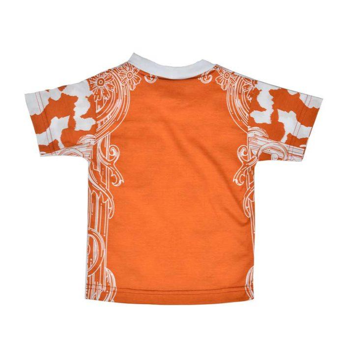 DMDKTS22RUF DMD T Shirt Rust Flower V2