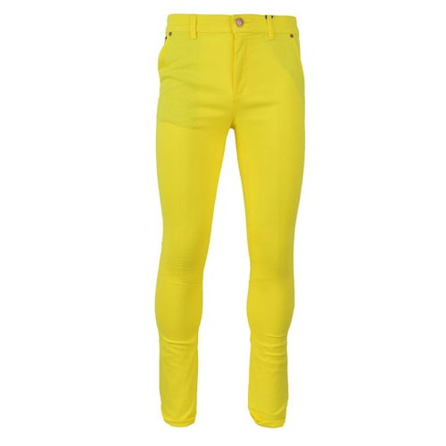 DMDP13LY DMD MENS 5 Pocket Chino Lemon Yellow V1