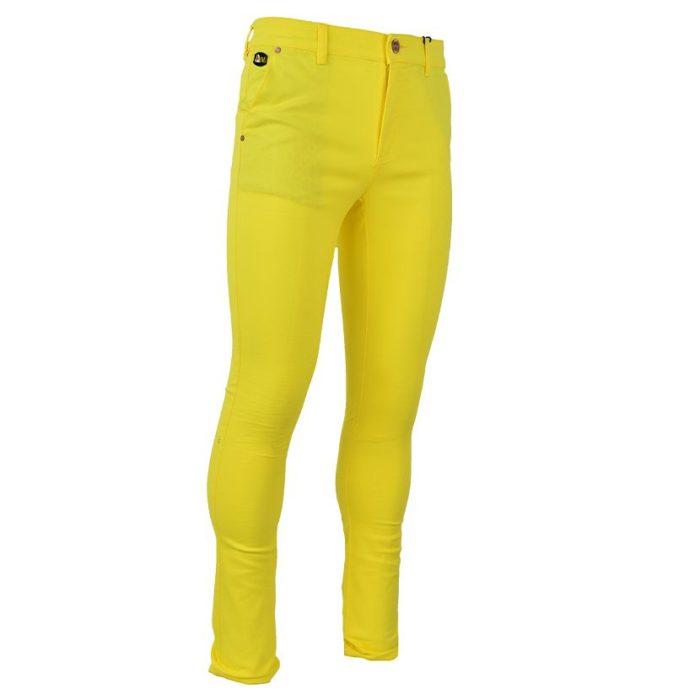 DMDP13LY DMD MENS 5 Pocket Chino Lemon Yellow V3