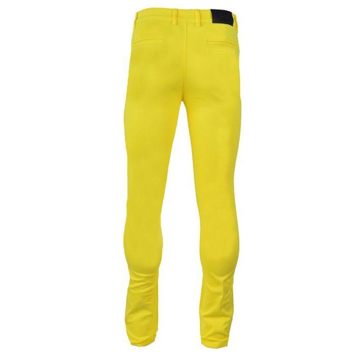 DMDP13LY DMD MENS 5 Pocket Chino Lemon Yellow V4