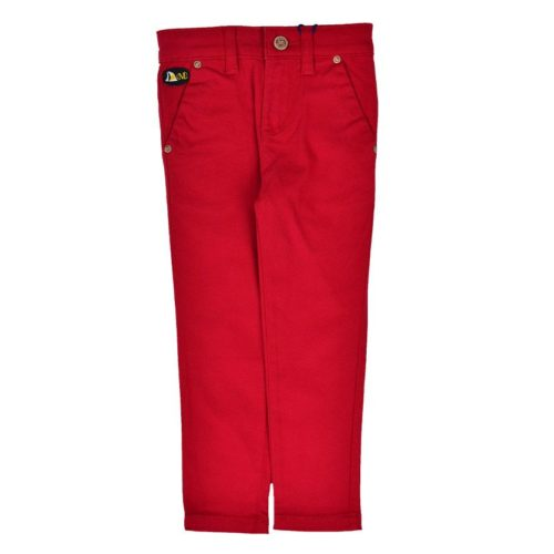 DMDPK3R2 DMD Slimfit Chino Red V1