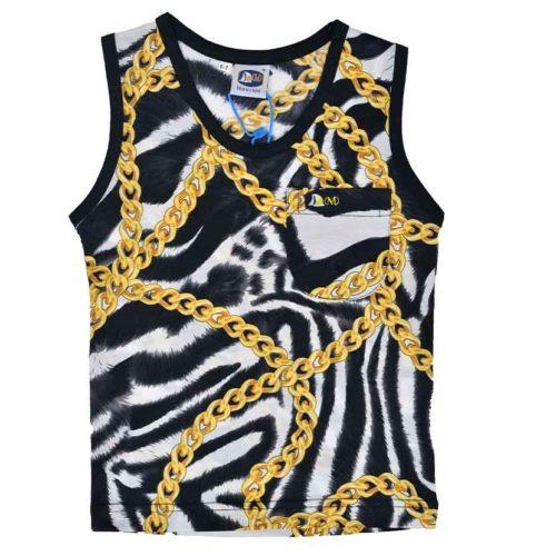 DMDV001ZC DMD Kids Vest Zebra Chain V1