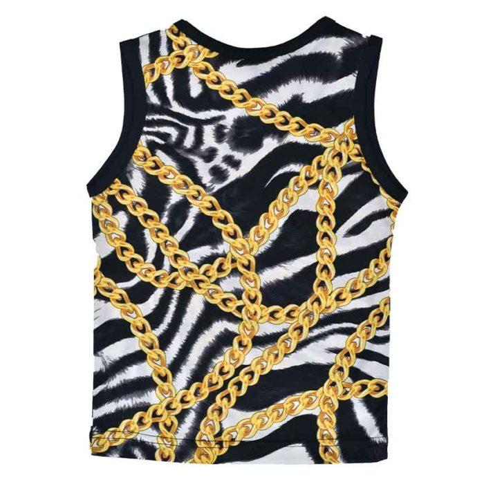 DMDV001ZC DMD Kids Vest Zebra Chain V2