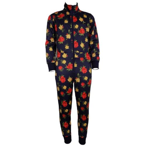 DMDKBS4NV4 DMD Boys Boiler Suit Navy Roses DMDS20 050BB V1